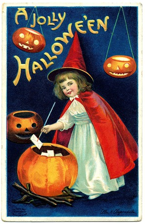 halloween_sweet_witch_vintage_image_graphicsfairy9b